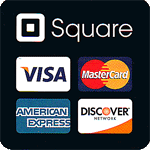 Discover VISA MC & AMEX Accepted